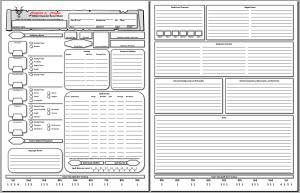 5E Character Sheet Thumbnail