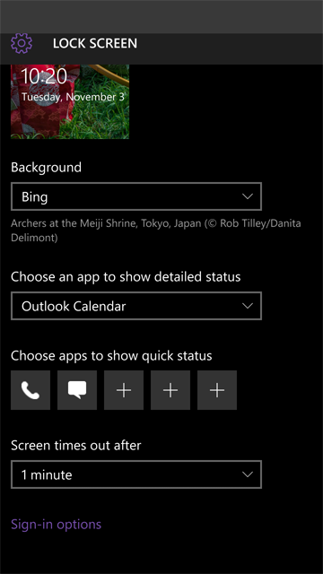 W10 Mobile, Email, Notifications, and Microsoft Band