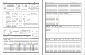 AD&D 2E Fillable Character Sheet